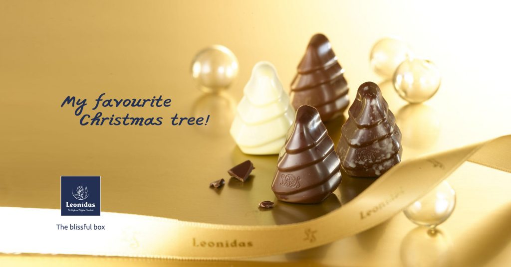 Leonidas chocolate trees